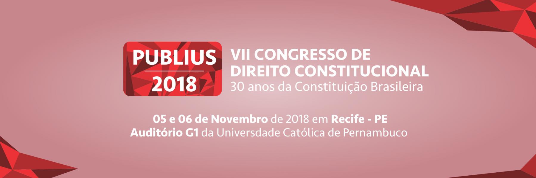 CONGRESSO PUBLIUS